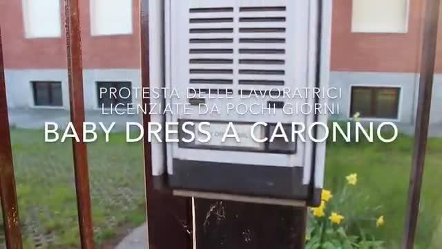 Video: Lavoratrici licenziate alla Baby Dress di Caronno
