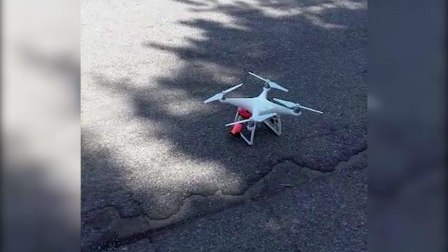 Video: Il drone della Polizia Locale
