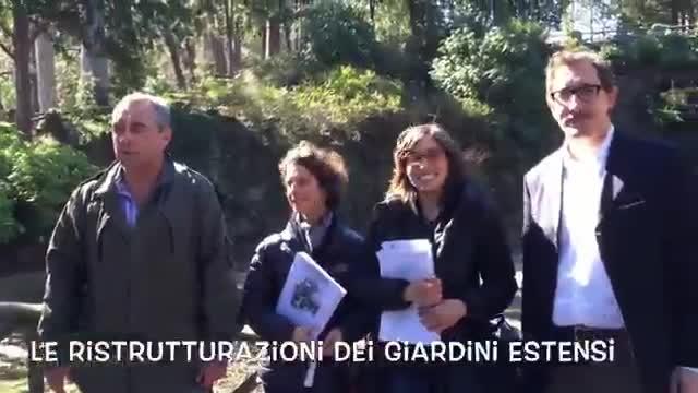 Video: Le ristrutturazioni ai giardini Estensi
