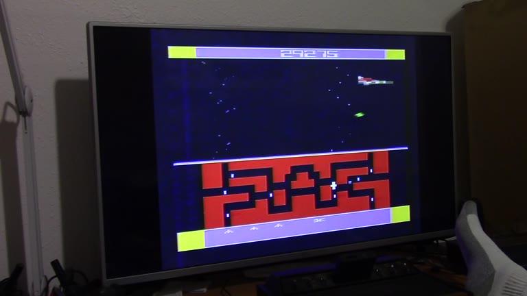 Atari 2600 / VCS - Flash Gordon - NTSC - Game 1, Difficulty B - 153,855 - John McAllister