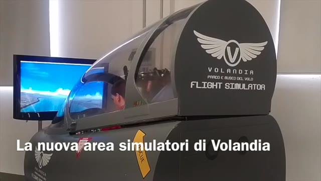 Video: A Volandia si vola… con i simulatori