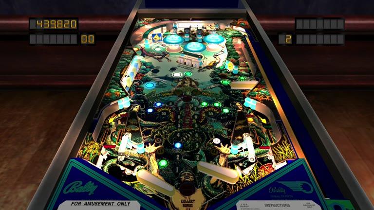 Xbox ONE - The Pinball Arcade - Fathom - 2,977,180 - Angela Stefanski