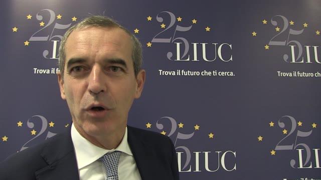 """Video: Federico Visconti: """"Continuità di sviluppo nel futuro della Liuc"""""""