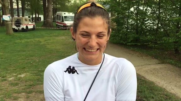 Video: Federica Cesarini, gioia per la medaglia di bronzo