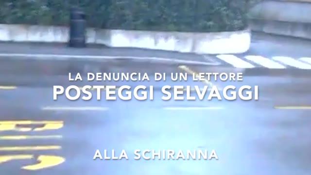 Video: Posteggi selvaggi alla Schiranna