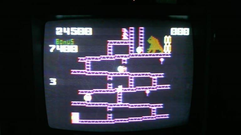 Intellivision - Donkey Kong - NTSC/PAL - Skill 3 - 103,500 - Roger 111