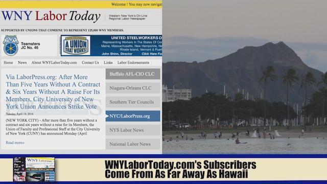 Western New York Labor News… NOW! - Segment I