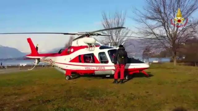 Video: Ricerche in elicottero sul lago