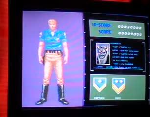 Sega Genesis / Sega Mega Drive - ESWAT: City Under Siege - NTSC - Points - 198,500 - Juan Castellanos
