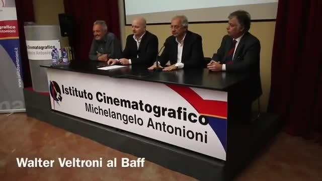 Video: Walter Veltroni protagonista al Baff