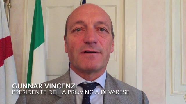 Video: Il saluto di Gunnar Vincenzi ai cittadini