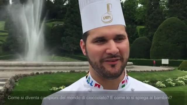 Video: Un campione del mondo di Cioccolato ai Giardini Estensi