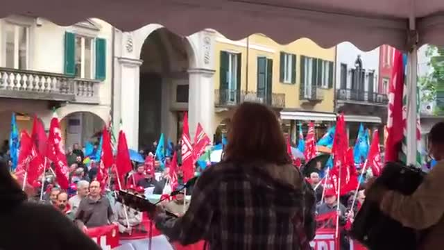 Video: Primo maggio a Varese