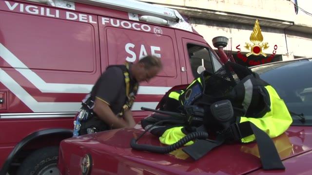 Video: Proseguono i lavori di messa in sicurezza del ponte Morandi