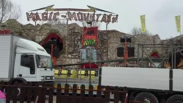 Video: Arriva il luna park alla Schiranna