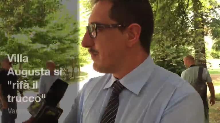 """Video: Villa Augusta si """"rifà il trucco"""""""