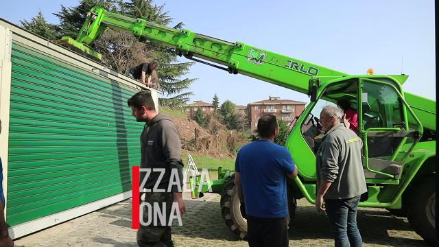 Video: Il chiosco di Gazzada parte per le zone del terremoto
