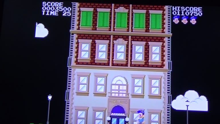 Sega Genesis / Sega Mega Drive - Fix-It Felix Jr. - [NTSC-Points] - 49,575 - Terence O'Neill
