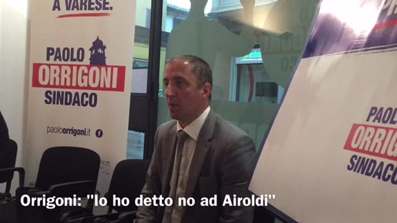 """Video: Orrigoni: """"Airoldi mi chiese le poltrone, io dissi no"""""""