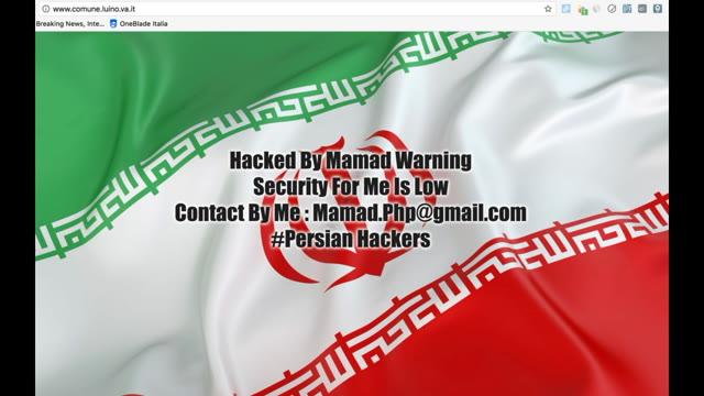 Video: Hackerato il sito del Comune di Luino