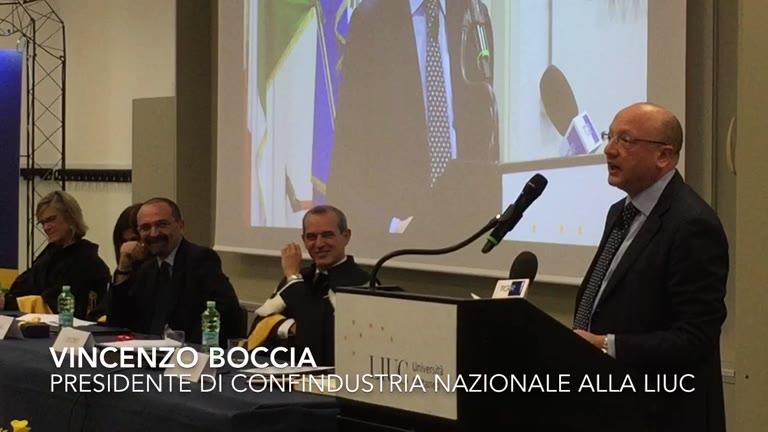 Video: Vincenzo Boccia alla Liuc