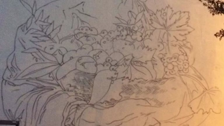 Video: Dal disegno al Caravaggio di Ravo