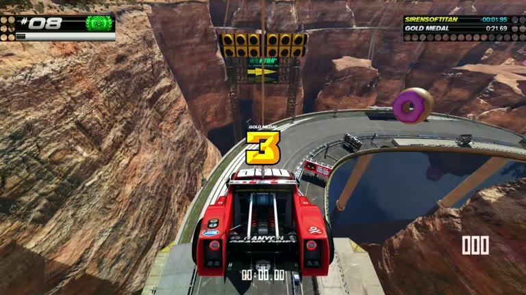 PlayStation 4 - Trackmania Turbo - White Series 08 - Fastest Time - 19.69 - Shaun Michaud