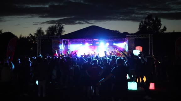 Rock Festival at Street Campus