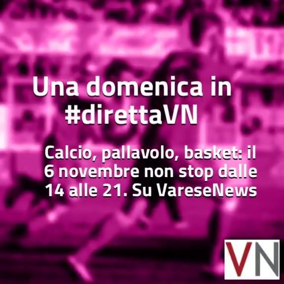 Video: #direttaVn, il programma di domenica 6 novembre