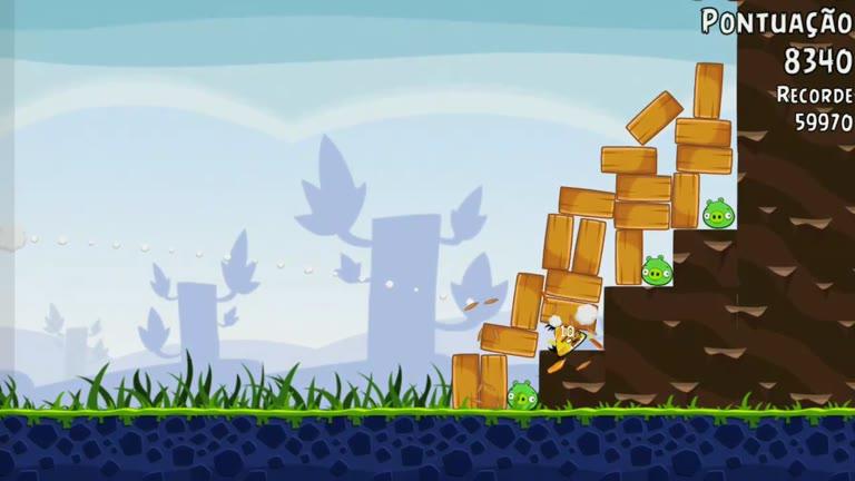 Android - Angry Birds - Poached Eggs - 1-18 - 61,640 - Rodrigo Lopes