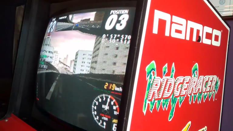 Arcade - Rave Racer - City - Fastest Lap - 57.126 - Jason Newman