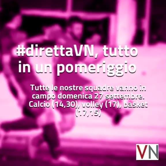 Video: #direttaVN, il programma di domenica 27 novembre