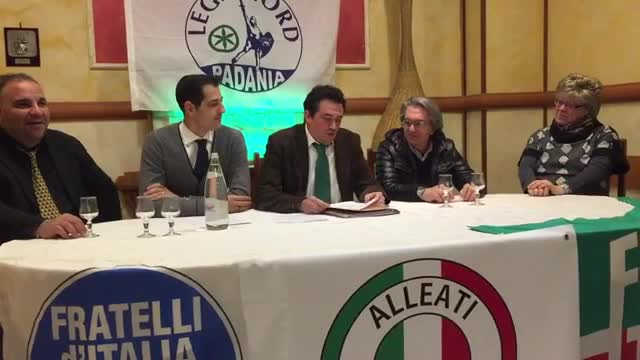 Video: Mirko Zorzo si candida alla guida del centro destra albizzatese