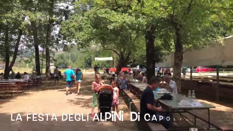 Video: A pranzo dagli alpini a Capolago
