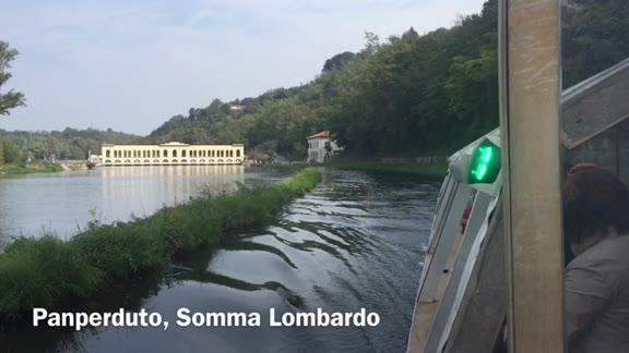 Video: In battello sulle acque del Ticino e del Villoresi