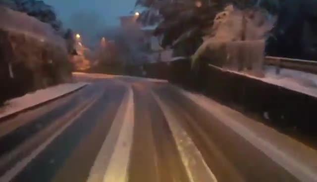Video: Neve a Varese