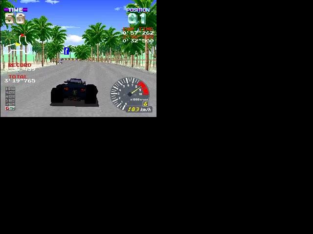 M.A.M.E. - Pocket Racer (Japan, PKR1/VER.B) - Seaside Course (Fastest Race - Pocket Racer) - 02:50.255 - Paul Ford