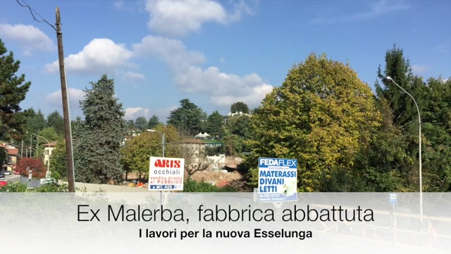 Video: Ex Malerba, la fabbrica è stata abbattuta