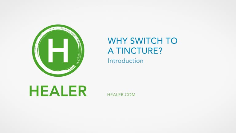 Switching From Inhalation to Tincture - Healer