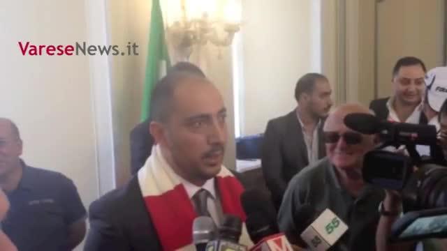 Video: La prima uscita ufficiale del neopresidente del Varese 1910 Alì Zeaiter