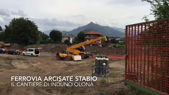 Video: Il cantiere della Arcisate Stabio