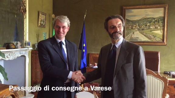 Video: Passaggio di consegne a Varese