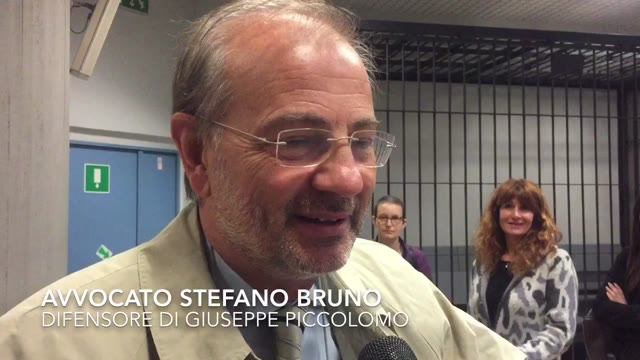Video: Giuseppe Piccolomo ancora a processo, la difesa