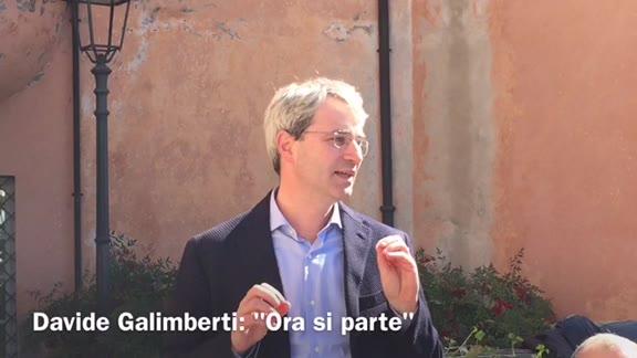 Video: Gli ex-sfidanti delle primarie insieme a Galimberti