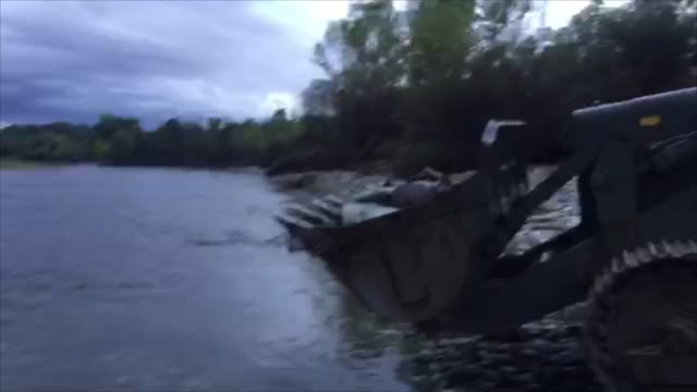 Video: Lo spostamento della bomba di Turbigo