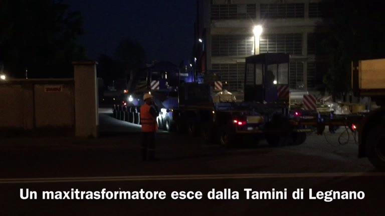 Video: Un trasporto eccezionale alla Tamini