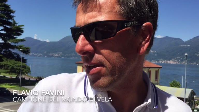 Video: Flavio Favini sul futuro della vela a Luino