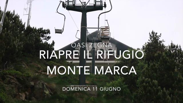 Video: Oasi Zegna: riapre il rifugio Monte Marca