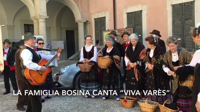 """Video: Il Gruppo Folkloristico Bosino canta """"Cara Varès"""""""