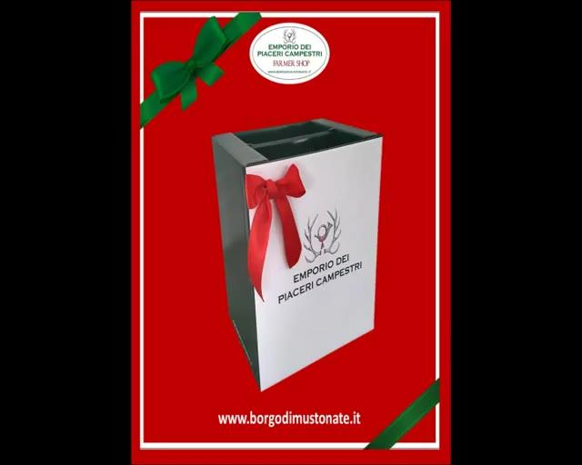 Video: Natale all'Emporio dei Piaceri Campestri del Borgo di Mustonate
